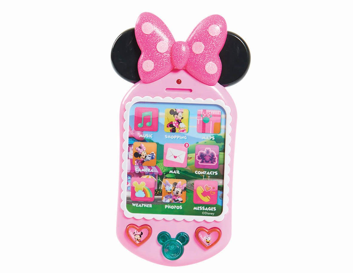 Minnie's Happy Helpers Cell Phone Just Play Flair Leisure Products JPL88050