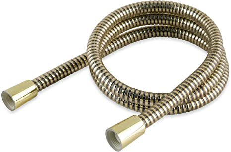 Gold Shower Hose Universal 1.5m /& Replaces Mira Grohe Triton Aqualisa and Others by Arian