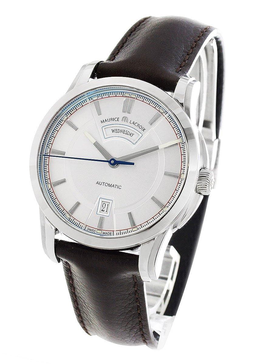 モーリスラクロア ポントス デイデイト レトロ 腕時計 メンズ MAURICE LACROIX PT6158-SS001-131[並行輸入品] B011BHNCVO