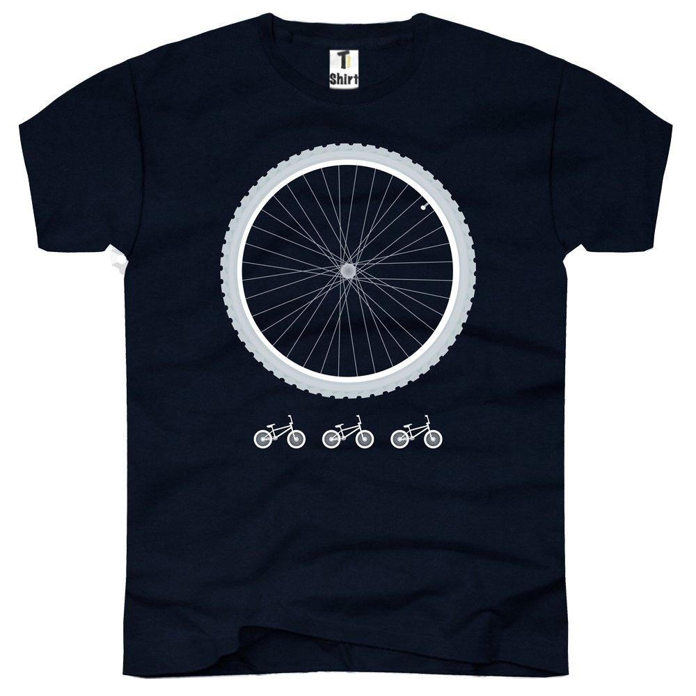 3cdb1ffd4c83 Herren T-Shirt mit Aufdruck. Shirt mit Fahrrad Druck. Tee mit Rad Print.   Amazon.de  Bekleidung