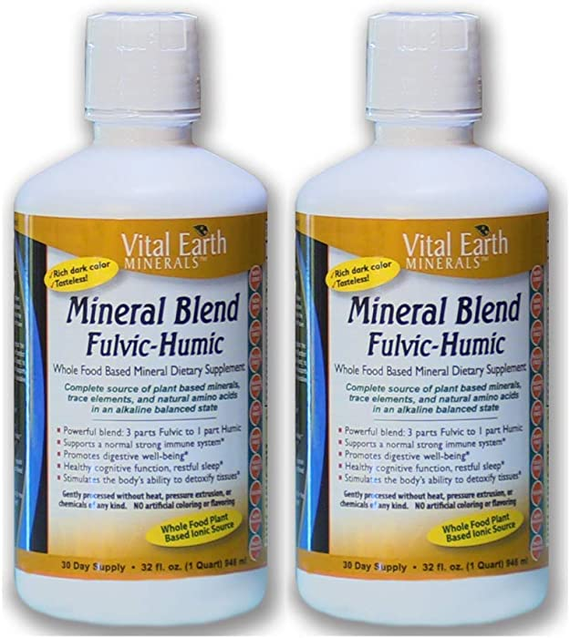 Top 10 Cell Food Liquid Minerals