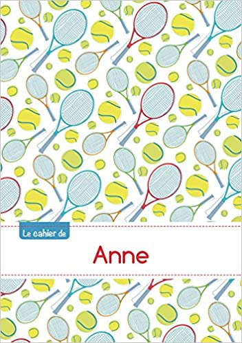Download Le cahier d'Anne - Blanc, 96p, A5 - Tennis epub pdf