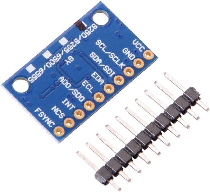 haoyishang mpu-9250/9-axis Attitude Beschleunigung Magnetometer Sensor Modul SPI IIC f/ür Arduino Gyro