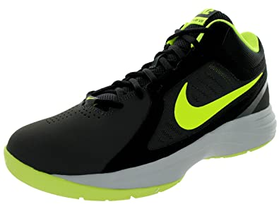 Nike Men's Black Cool Grey Volt Overplay Viii Basketball Performance Shoes anthracite In 2016 In More Styles