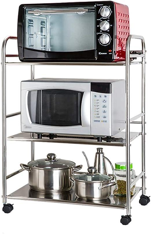 Estante de cocina Soporte para Estante De Horno De Microondas con ...