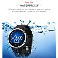 VITHCONL Reloj Inteligente para niños, para Android iOS Sports Fitness Calorie Wristband Wear Smart Watch Sport Smart Watch,Compatible con iOS Android