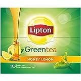 Lipton Honey Lemon Green Tea Bags, 10 Tea Bags
