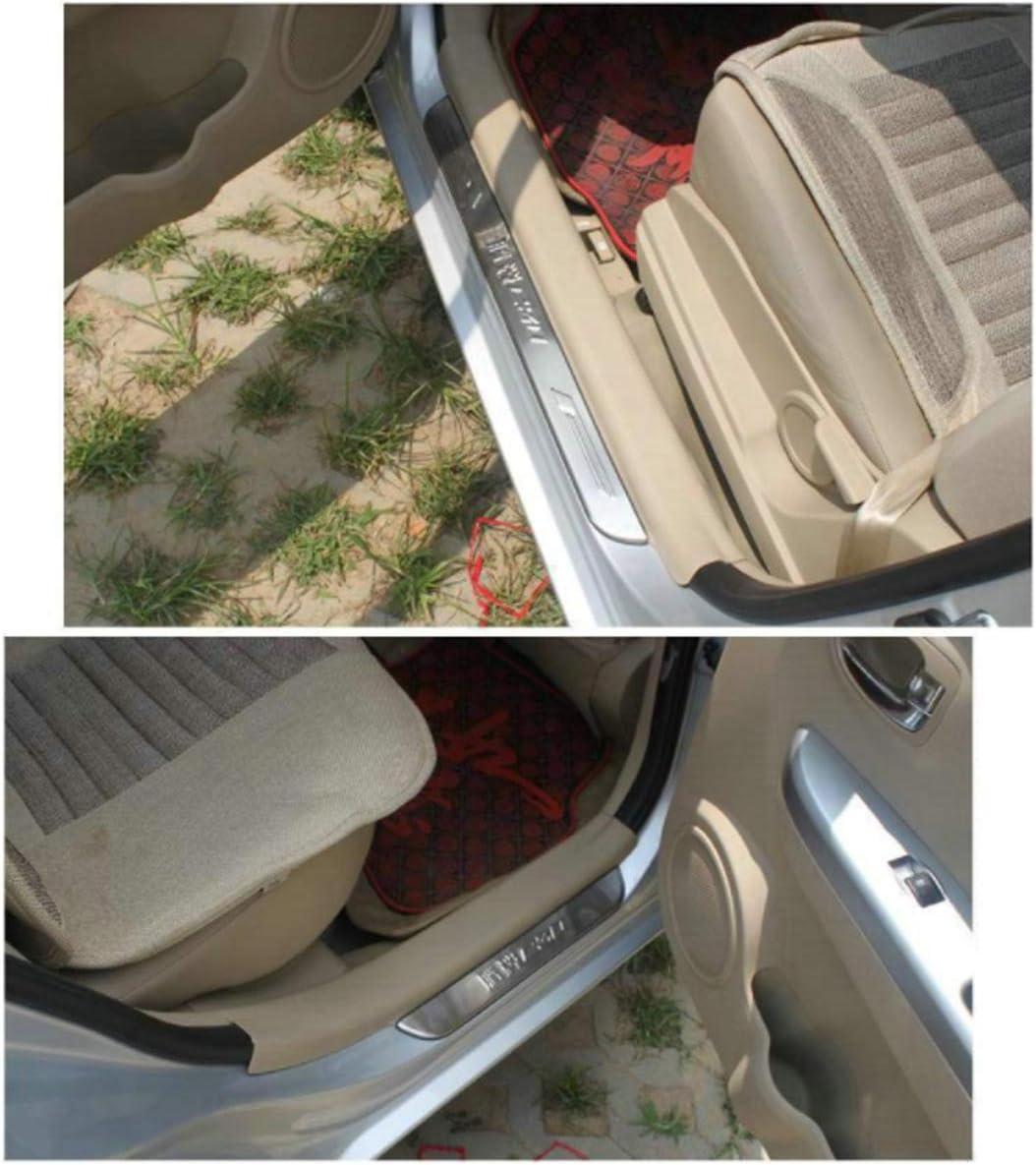 Exterieur T/ürschwellerschutz Original Zierleisten Abdeckung Pedal Schutz Aufkleber Einfache Montage N//A 4 St/ücke Auto Einstiegsleisten Edelstahl F/ür Mazda CX 3 CX3 Cx-3 2014-2019