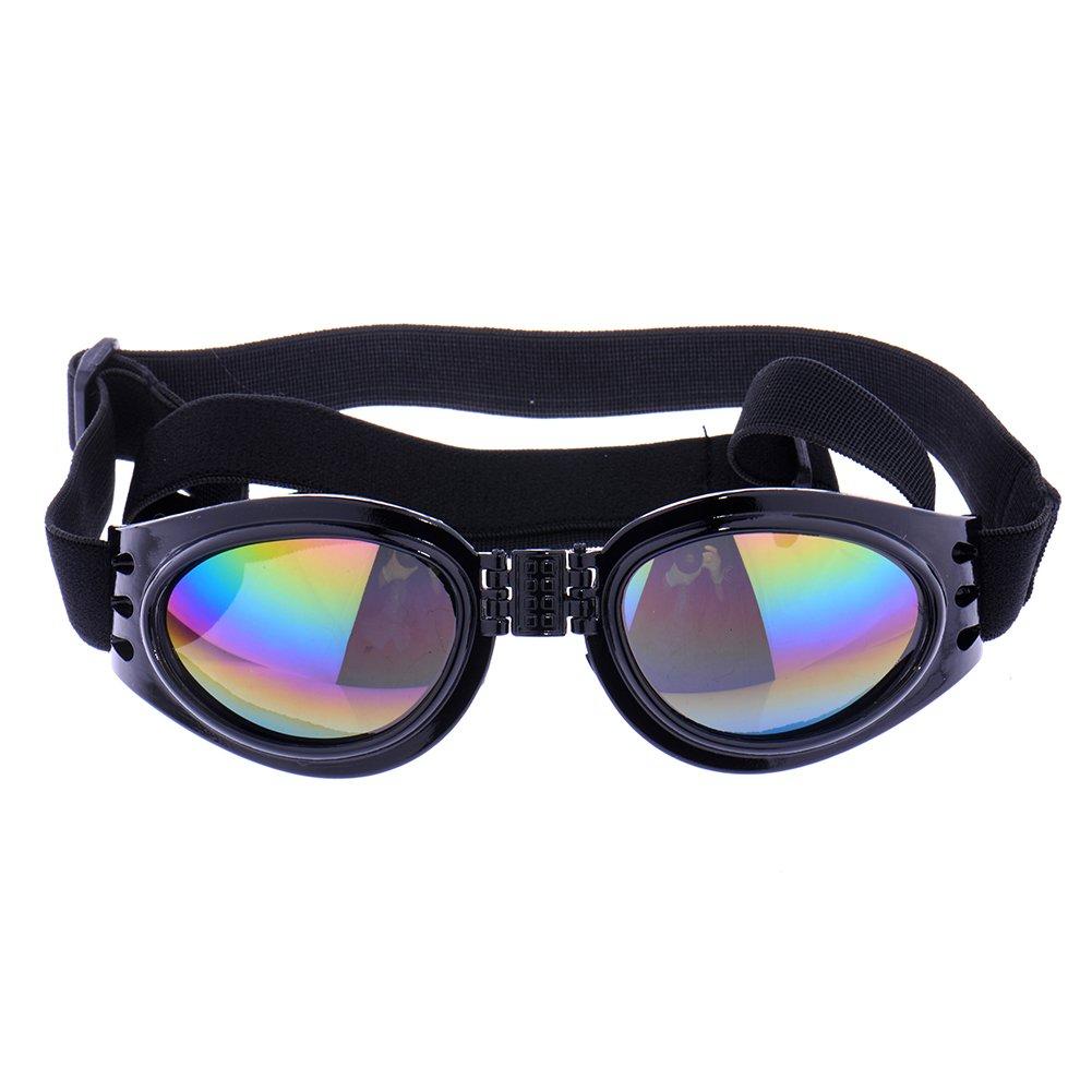 Zrong Pet Dog UV Sunglasses Sun Glasses Eye Wear Protection Goggles