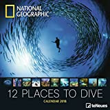 2018 National Geographic 12 Places to Dive - teNeues Grid Calendar - Photography Calendar - 30 x 30 cm