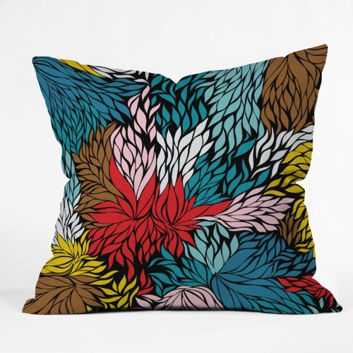Deny Designs Khristian A Howell Nolita Cover Throw Pillow, 16 x - The Process Or Proceed The Order Order