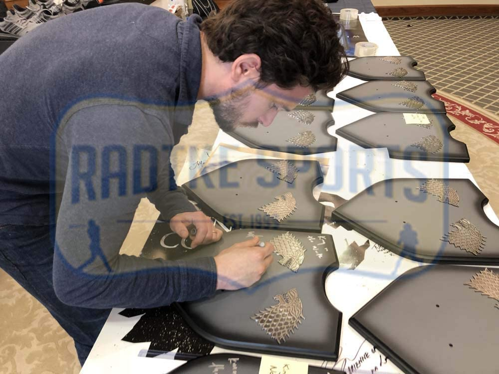 Kit Harington Autographed//Signed Longclaw King in the North Edition Limited Edition of 1500