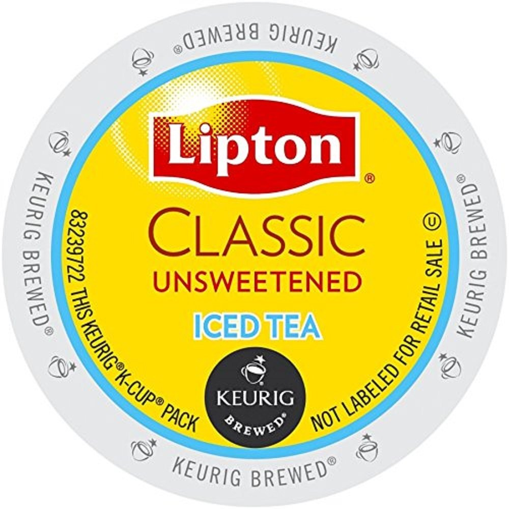 Lipton K-Cup Packs, Classic Unsweetened ICED Tea, 48 Count by lipton