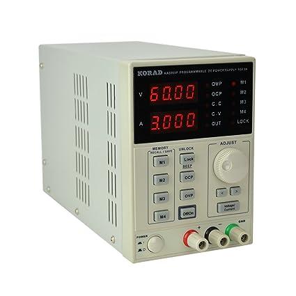 KORAD KA6003P - Programmable Precision Variable Adjustable 60V, 3A