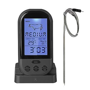 Termómetro inalámbrico para barbacoa, termómetro digital iDeep para carne, termómetro de cocina, termómetro