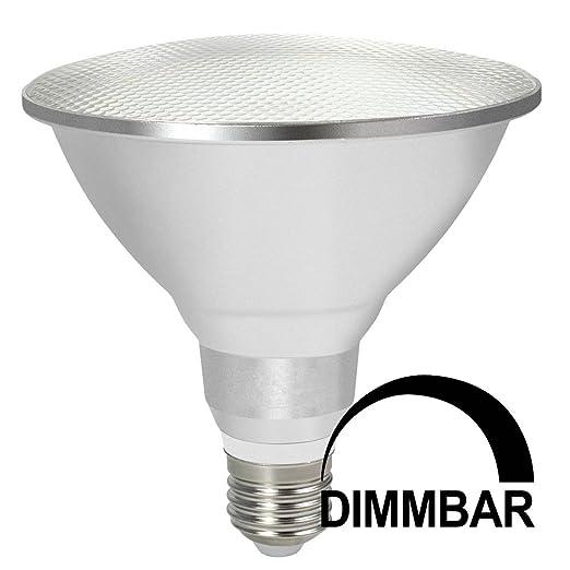 daskoo DIMM Bar impermeable E27 15 W=120 W LED PAR38 Luz Aleación de aluminio