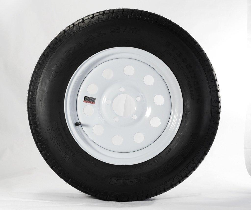 Loadstar - 14' Radial/Wheel Assembly - St205/75r14 C/5-Hole Modular - 32154