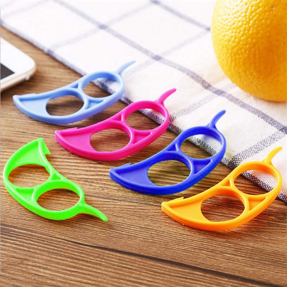 1//10pcs Citrus Peeler Orange Lemon Peeler Remover Orange Stripper Kitchen Tools
