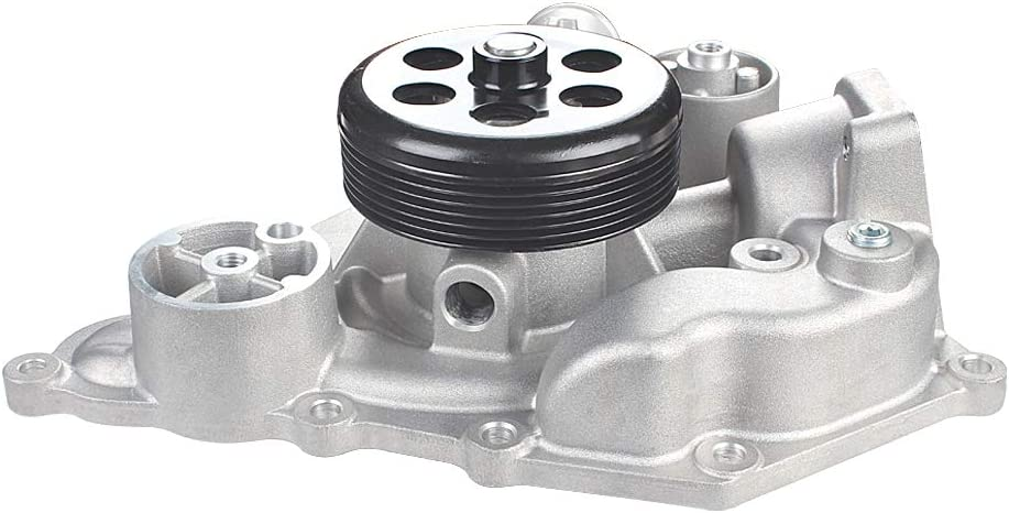 OE Replacement 5.7L 6.1L V8 Engine IRONTREE AW7170 Professional Water Pump Kit with Gasket Compatible with Chrysler 300 Dodge Charger Challenger Magnum