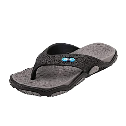440cb6fcd7414 Amazon.com: FACAIAFALO Men's Fashion Casual Plus Size Slippers Beach ...