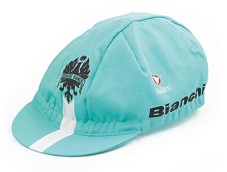 Bianchi - Cappellino Gara Reparto Corse Colore Celeste 100% Cotone C9551021 d3bd3ba4372a