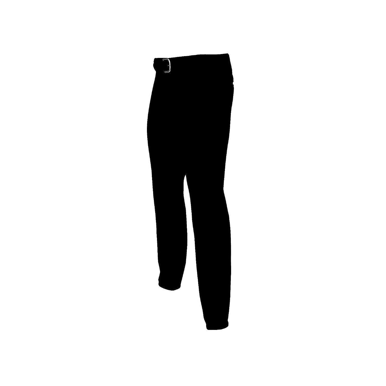 Champro大人用クラシックベルト付き野球パンツ、ブラック、XXL B00GC2CV84