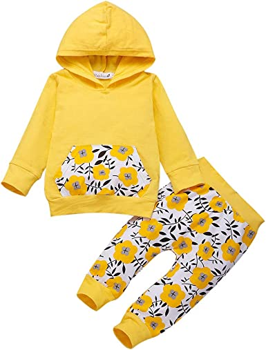 Outtop Baby Clothes Sets,Toddler Children Infant Kids Boys Girl Cartoon Shark Print Top Clothes+Pants Outfits Set TM
