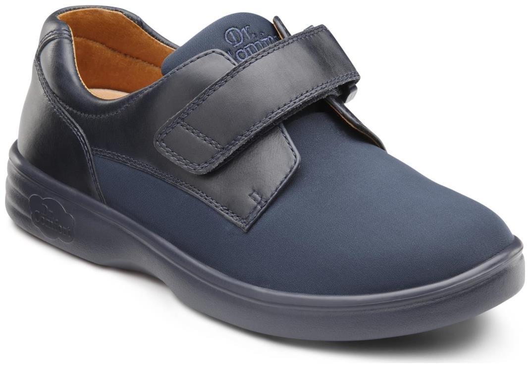 Dr. Comfort Annie Women's Therapeutic Diabetic Extra Depth Shoe: Blue 9.5 X-Wide (E-2E) Velcro