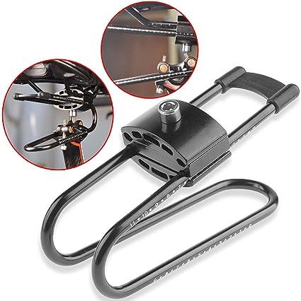 Quality Bike Shocks Saddle Suspension Seat Shock Absorber Alloy Spring Steel US