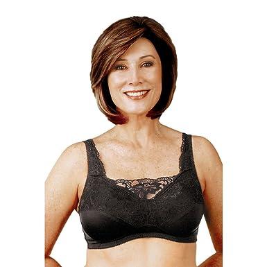 0eb278d4906 Amazon.com  Post Mastectomy Romantic Camisole Bra  Clothing