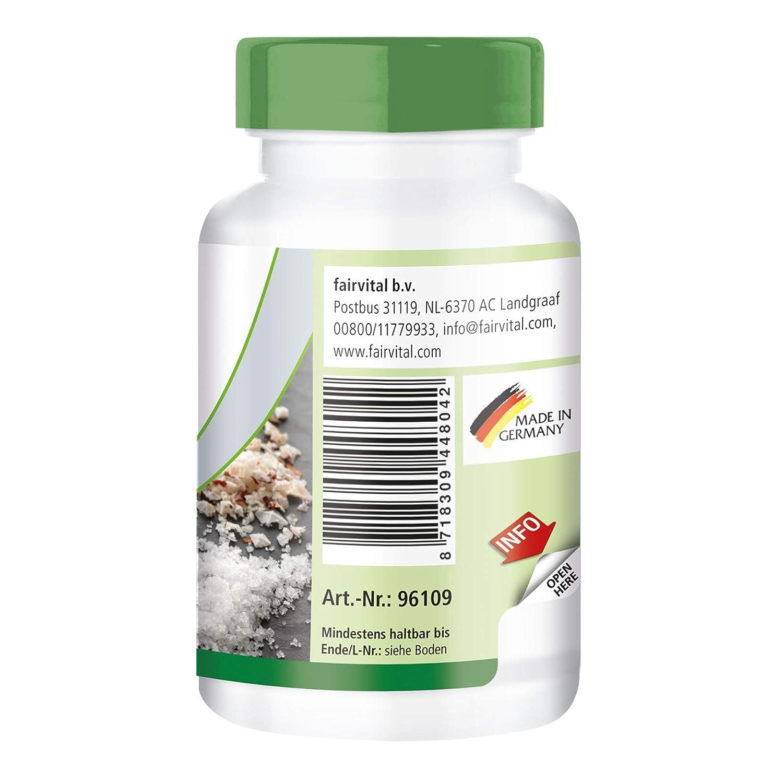 Hierro 25 mg Complejo - A GRANEL durante 3 meses - vegano - ALTA DOSIS - 90 Cápsulas: Amazon.es: Salud y cuidado personal