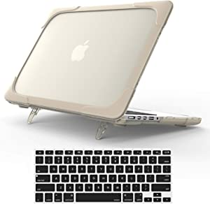 For Macbook Pro 15 Retina Case,StrongCase [Heavy Duty][Dual Layer] Hard Case Cover with Plastic Bumper for Apple Macbook Pro 15.4