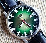 POLJOT AVIATOR Wrist Watch Military Mechanical Hand Watch Men's