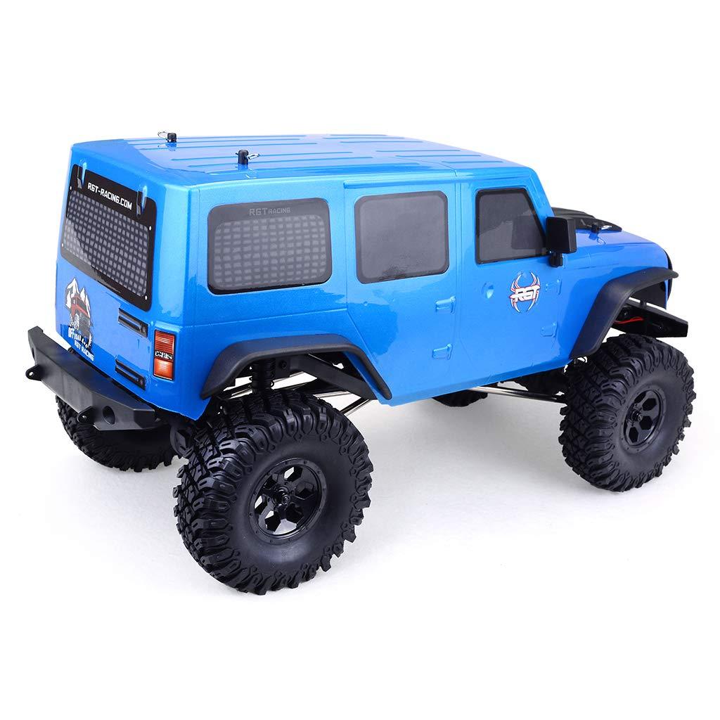 LanLan RGT 86100 1//10 2.4G 4WD RC Rock Crawler Azul