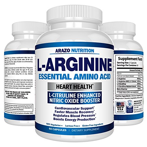 Premium Arginine L Citrulline Essential Supplement