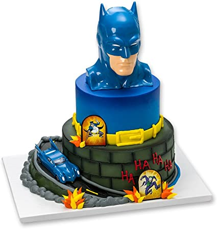 Fantastic Batman To The Rescue Cake Topper Decorating Set Amazon Ca Toys Personalised Birthday Cards Paralily Jamesorg