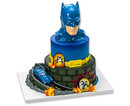 Batman To The Rescue Cake Topper Decorating Set