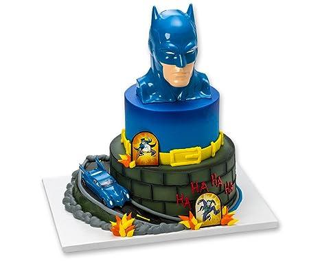 Amazon Batman To The Rescue Cake Topper Decorating Set Toys Games