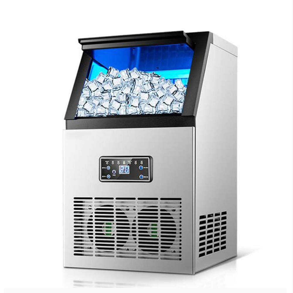 Ice making machine electric commercial or home use countertop Automatic bullet ice maker ice cube making machine 220V 110V,60kgper24h,AU by MEIBING