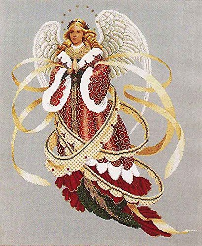Stitch Cross Lace - Lavender & Lace Counted Cross Stitch Chart Pattern ~ Angel of Christmas