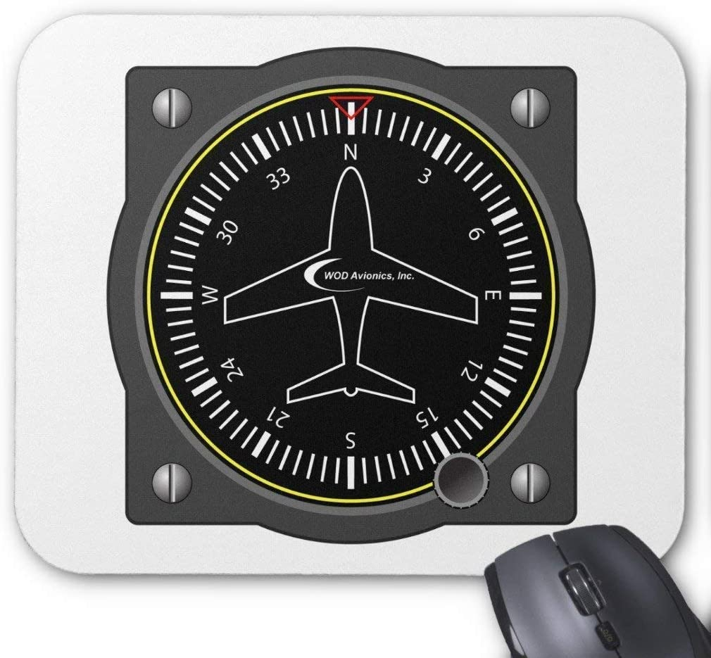 Mouno 2530CM マウスパッド ゲーム用マウスパッド 滑り止めゴム裏地 航空ヘッディングゲージマウスパッド