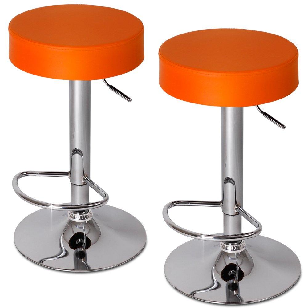 Popular 225 List Orange Bar Stools