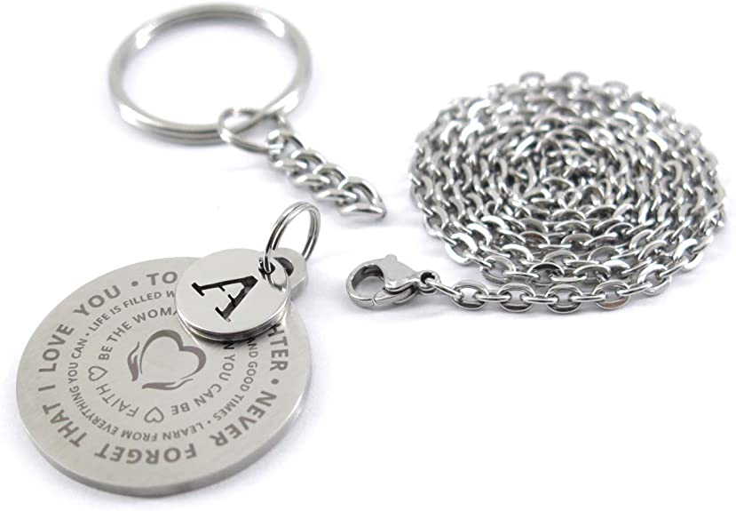 Keyring Gift-I May Not Be Your First Date I Just Want To Be Your Last Letters CB