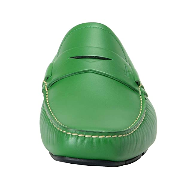 Amazon.com: Salvatore Ferragamo Mens Lake Green Leather Driving Moccasins Shoes Sz 9.5 EEE 42.5 EEE: Shoes