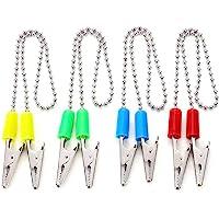 5 PCS Dental Bib Holder Clips Sterilizable Silicone Napkin Clips Random Color