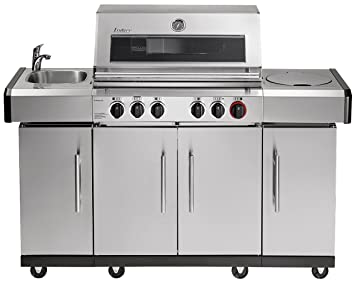 Enders Gasgrill Kansas 4 Sik Profi Turbo : Enders kansas pro sik profi turbo bbq gasgrill infrarot