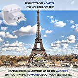 European Travel Plug Adapter by Ceptics Europe