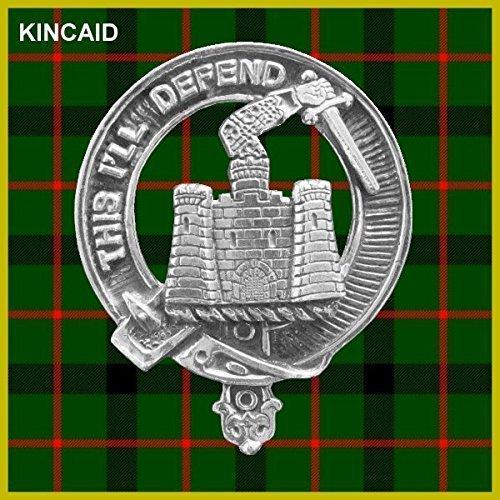 Kincaid Clan Crest Scottish Cap Badge