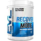 Evlution Nutrition Recover Mode Post Workout with BCAA's, Creatine, Glutamine, Beta-Alanine, L-Carnitine, Vitamins and More (Blue Raz)