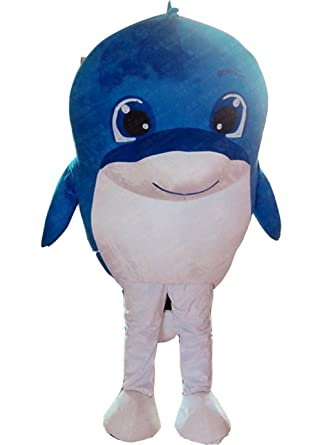 Dolphin Whale Mascot Costume Dolphin Costume Adult Fancy Dress (Small Blue)  sc 1 st  Amazon.com & Amazon.com: Dolphin Whale Mascot Costume Dolphin Costume Adult Fancy ...